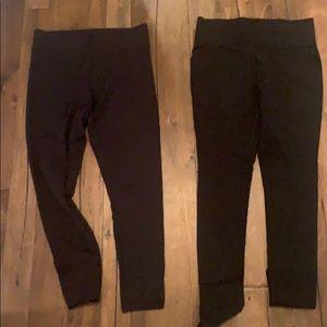 2 pairs of Spanx Leggings Lot